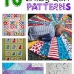 10 free baby quilt patterns