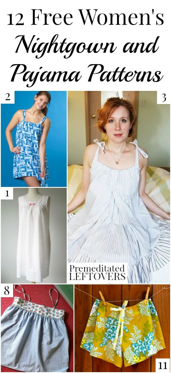 471553dc11 10 Free Women s Nightgown Patterns- Premeditated Leftovers