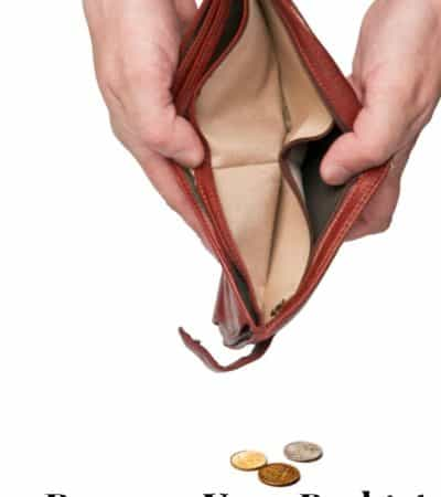 Empty wallet? 9 reasons your budget may not be working.