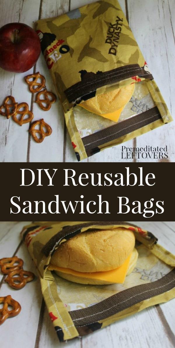 Diy Reusable Sandwich Bag Tutorial