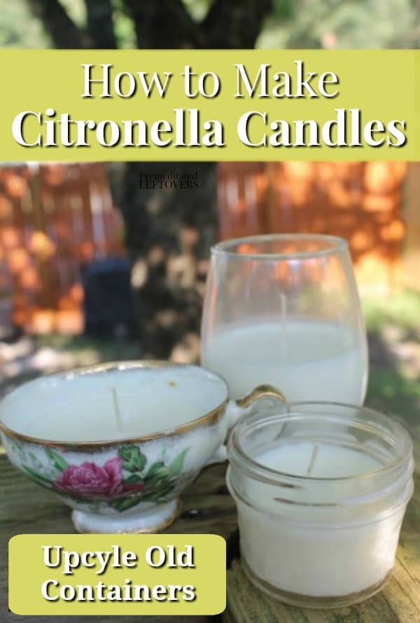 How to make citronella candles - recipe, tutorial and tips