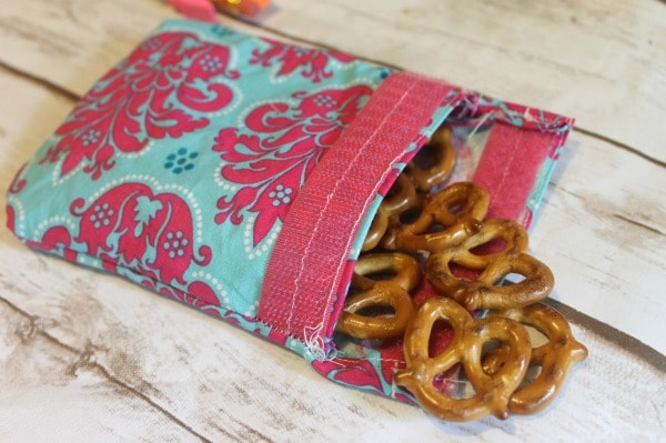 Reusable Snack Bag - Easy DIY Tutorial