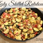 Zesty Skillet Ratatouille Recipe