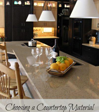 Choosing Countertop Materials
