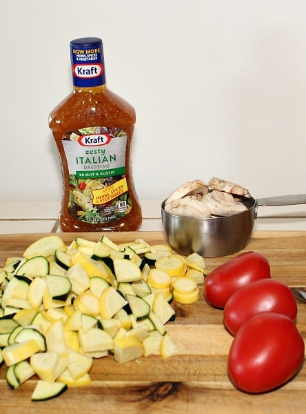Ingredients for Zesty Skillet Ratatouille Recipe