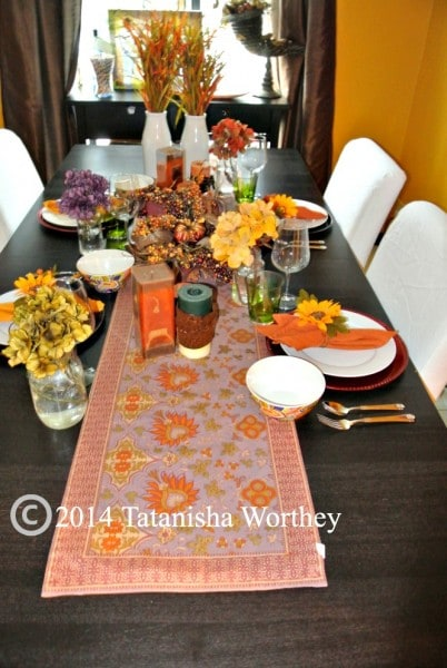 Fall table decor ideas for Pictures of fall table decorations