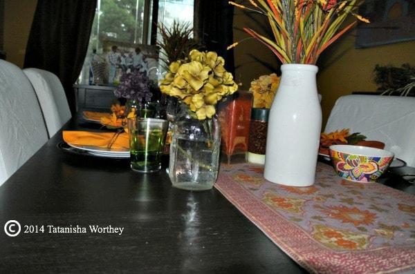 fall harvest table decor ideas