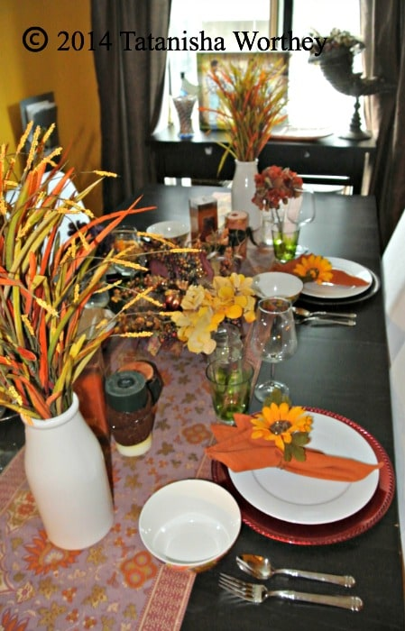 harvest tablescape idea