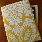 DIY Tablet Cover Tutorial - directions for making a cover for your Kindle or Tablet