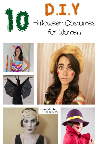 Looking to make your own Halloween costume this year, but running out of ideas? Here are 10 DIY Halloween Costumes for Women to get you started!