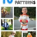 10 free boys halloween costume patterns
