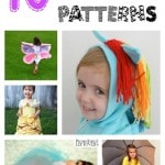 10 free girls halloween costume patterns