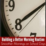 Building a Better Morning Routine