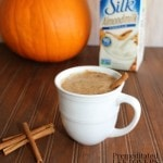 Dairy-free Pumpkin Spice Latte made with Silk Almondmilk