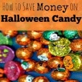 How to Save Money on Halloween Candy
