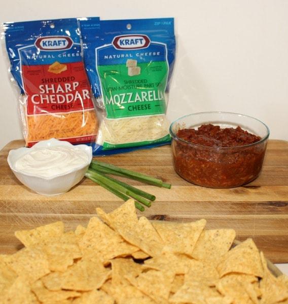 Ingredients for Pulled Pork Nachos Recipe