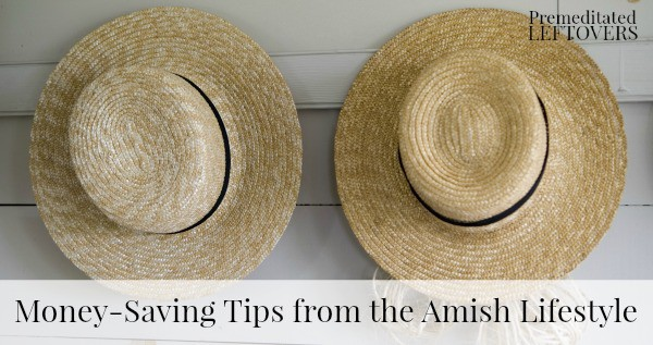 Money Saving Tips of the Amish