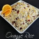 Orange Rice with Cranberries