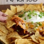 Pulled Pork Nachos Recipe - An easy and delicious appetizer!