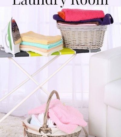 Tips for a more organized laundry room