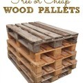 Where to find free or cheap wood pallets for your DIY projects