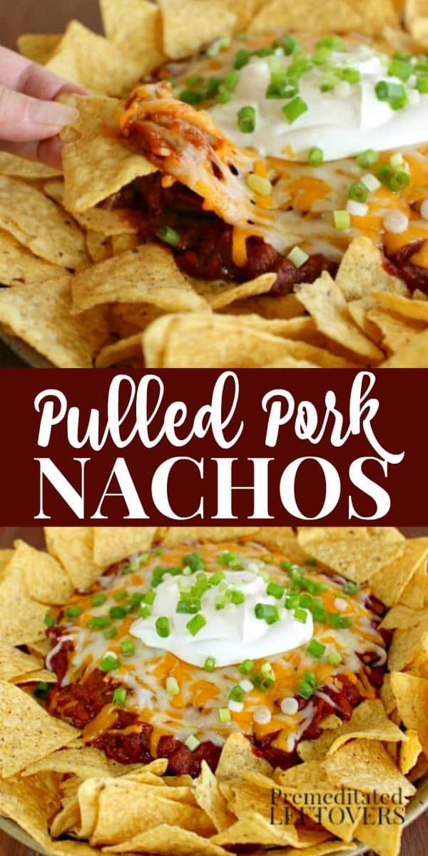 barbecue pulled pork nachos recipe