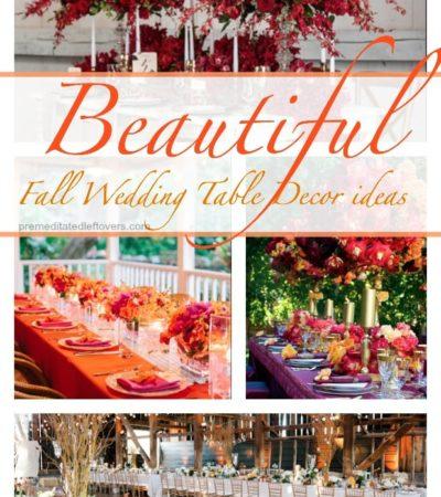 fall wedding ideas, wedding ideas, fall table decor ideas for a wedding