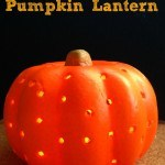How to Make a Pumpkin Lantern
