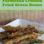 Parmesan Crusted Fried Green Beans