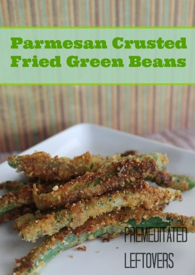 Parmesan Crusted Fried Green Beans Recipe