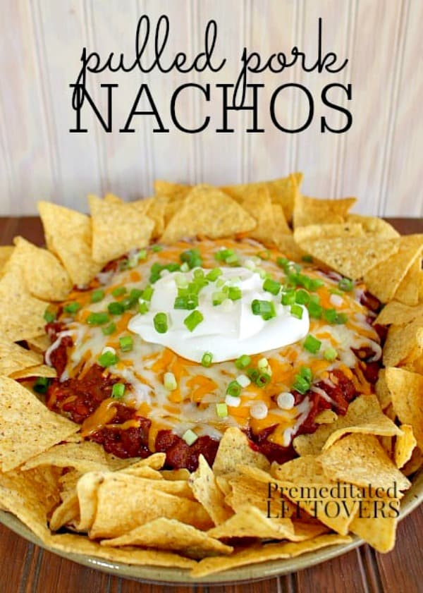 quick and easy pulled pork nachos recipe