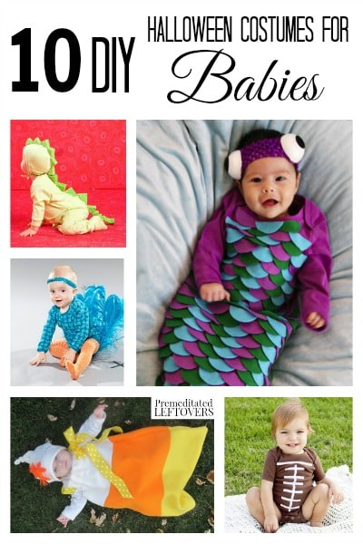 10 DIY Halloween Costumes for Babies