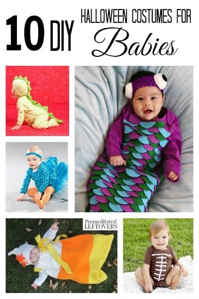 10 DIY Halloween Costumes for Babies