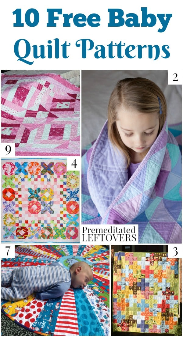 40 Free Baby Quilt Patterns Fascinating Free Quilting Patterns
