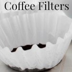 10 Frugal Uses for Coffee Filters