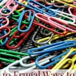 10 Frugal Uses for Paper Clips
