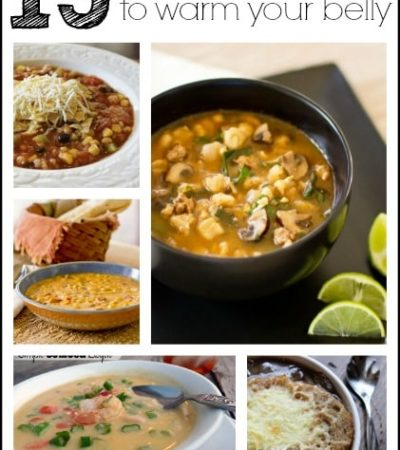 15 Soup recipes to warm your belly