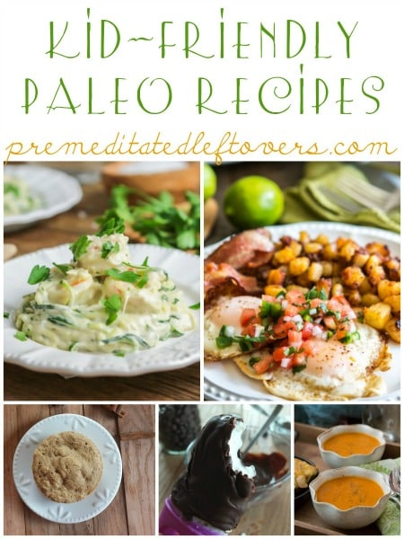 If your family is on the paleo diet (or trying to start the paleo diet) you will love these kid-friendly paleo recipes that the whole family can enjoy.