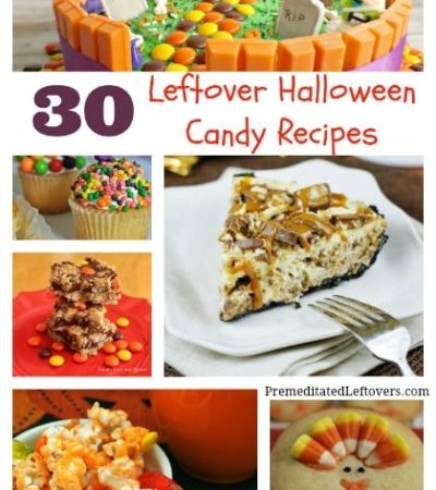 30 leftover Halloween candy recipes to use up your leftover Halloween candy