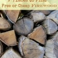 7 Place to find free or cheap firewood