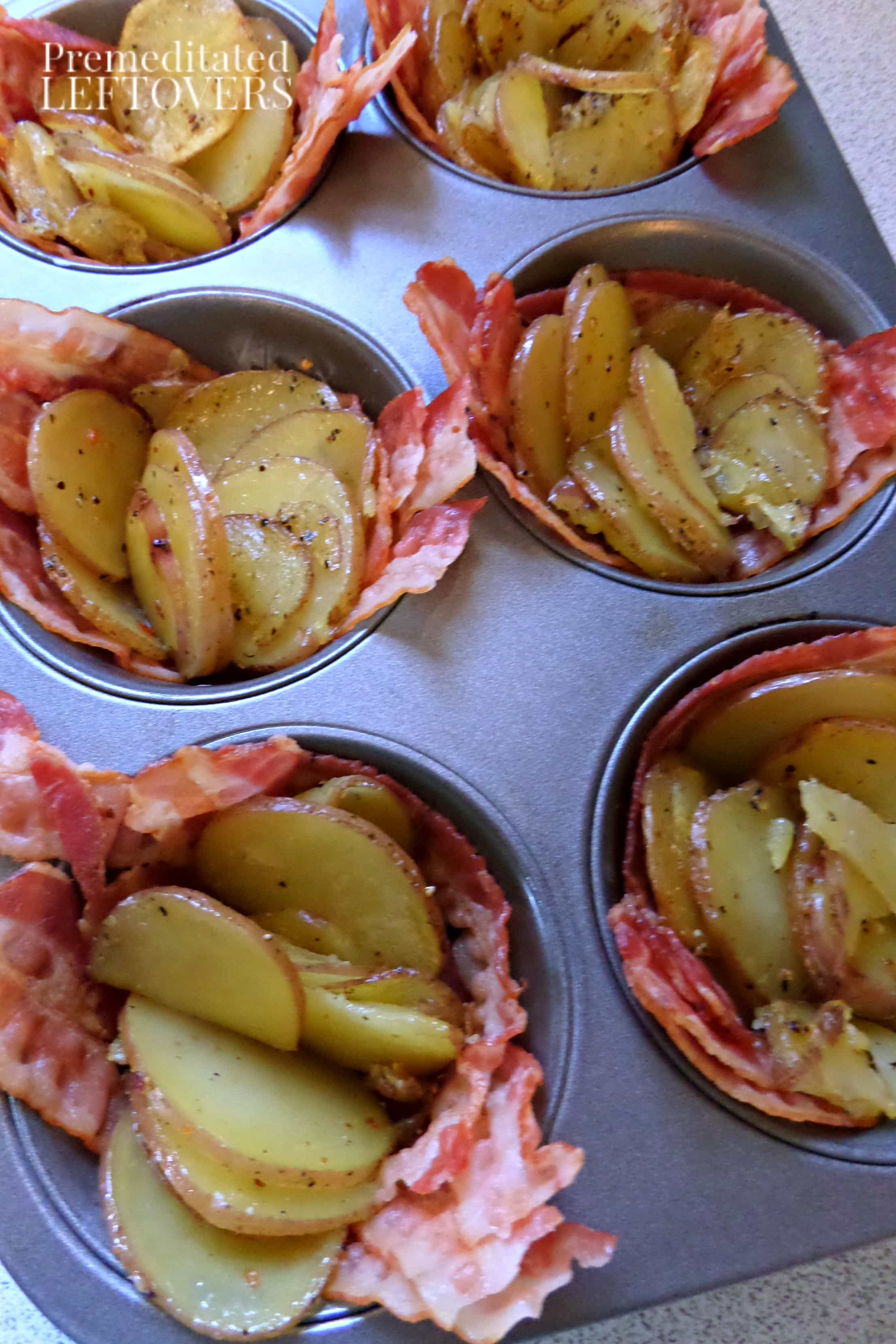 Breakfast Cups with Bacon