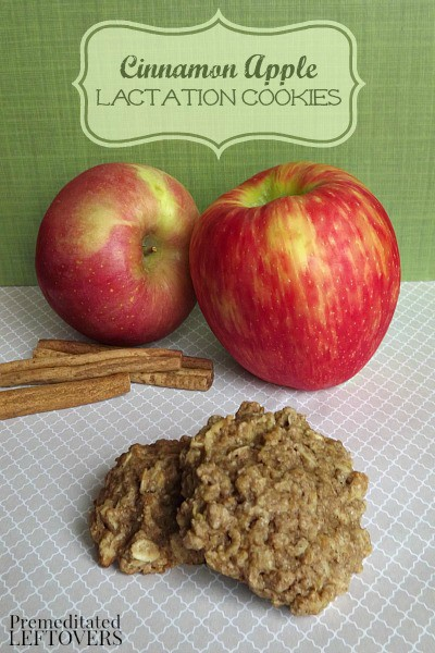 Postpartum Lactation Recipe- Cinnamon Apple