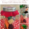 DIY Snowman in a Jar - Easy and frugal gift idea