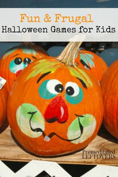 5 Fun and frugal Halloween Party Games for Kids perfect for school parties and neighborhood events