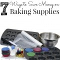 How to Save Money on Baking Supplies