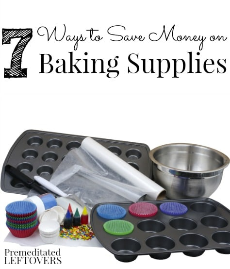 How to Save Money on Baking Supplies - Give these money saving tips a try, so you can bake all of your favorite sweets and treats for less.