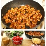 Southwest Shrimp Salad Recipe with Spicy Honey Lime Dressing