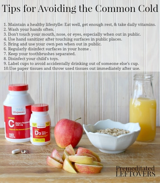 Tips for Avoiding the Common Cold: In addition to a healthy lifestyle like eating healthy, getting rest & taking vitamins, use these tips to avoid the cold.