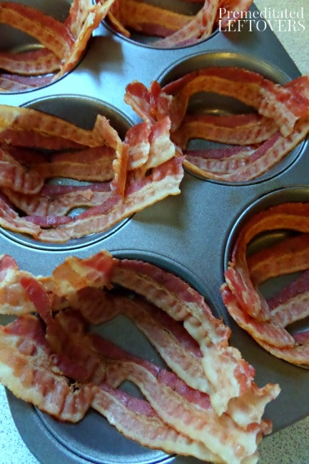 Bacon Breakfast Cups Recipe