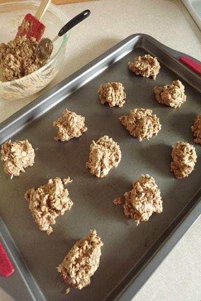 cinnamon apple lactation cookies baking instructions